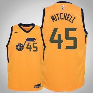 Youth Utah Jazz Donovan Mitchell Jersey